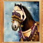 obras-de-schirleyndig-cavalo-arabe