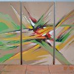 obras-de-schirleyndig-triptico-explosao-de-cores