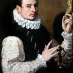 bartolomeo-passarotti-portrait-of-a-young-man-holding-a-statuette