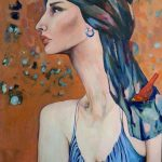 turbante_2014_acrilica-sobre-tela-colecao_mulheres_alessandra_t_mastrogiovanni