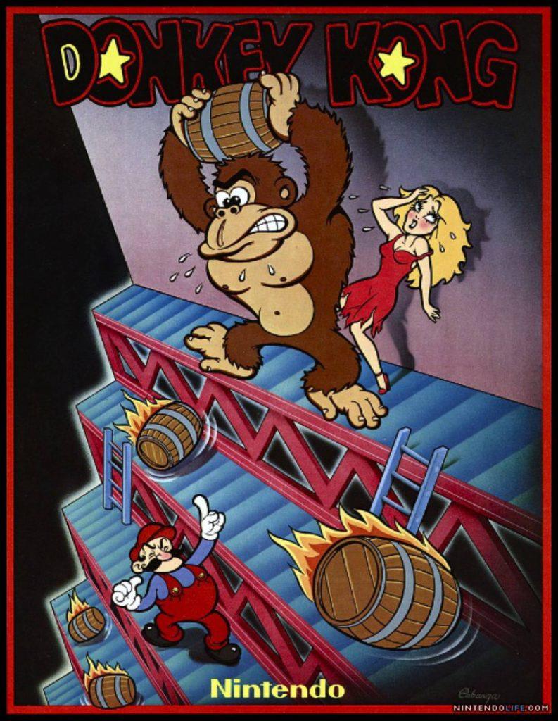 Cartaz paraDonkey Kong