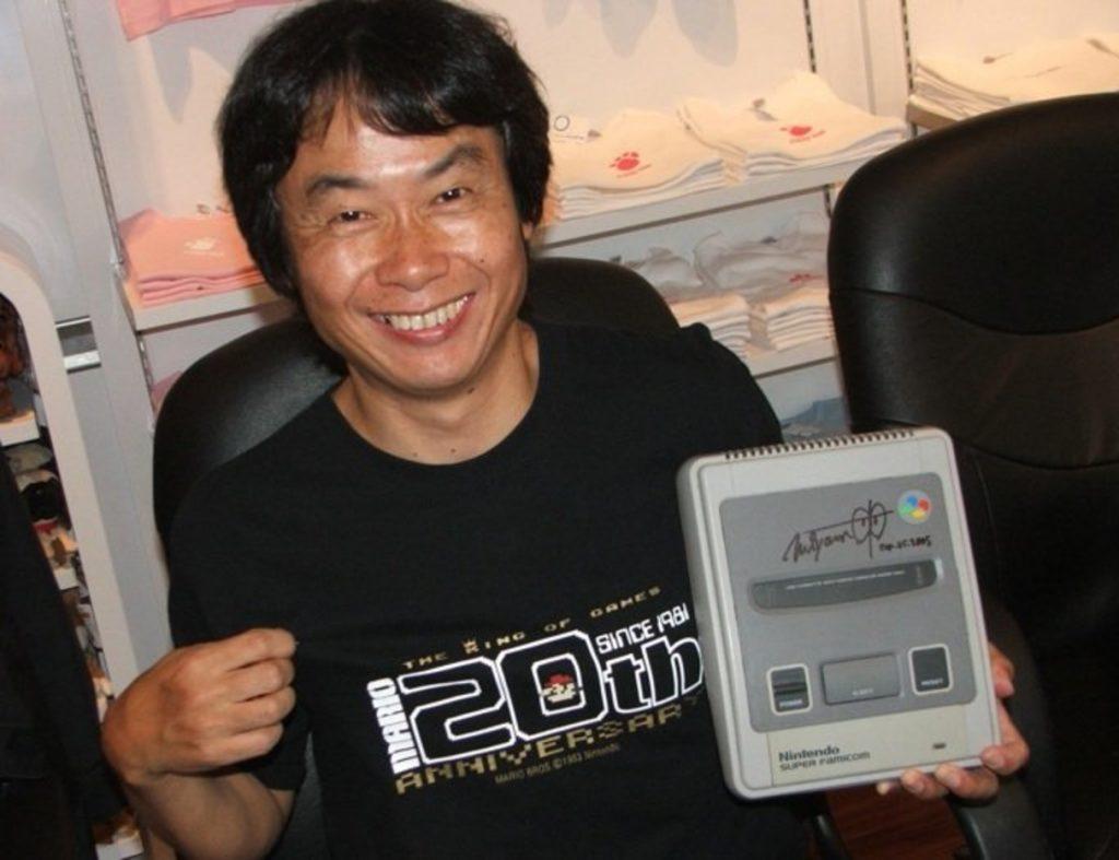 Anos após seu lançamento, Miyamoto ganhou um Super Famicom.